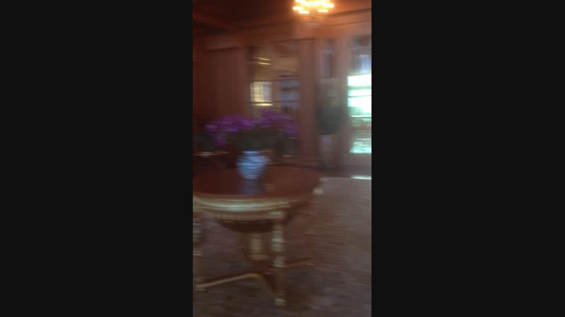 В резиденции Януковича в Межигорье