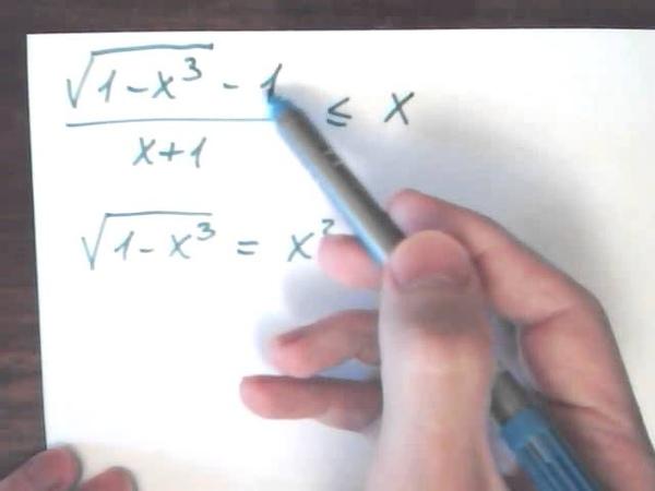 Алгебраические преобразования рациональные уравнения неравенства и системы