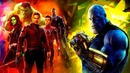 Мстители Война бесконечности HD 2018