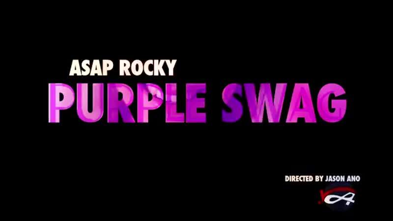 ASAP Rocky Purple Swag