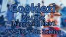 Cookiezi DJ Sharpnel IVALTEK HappyMiX HDDT 97 54% 718 910x 2xMiss