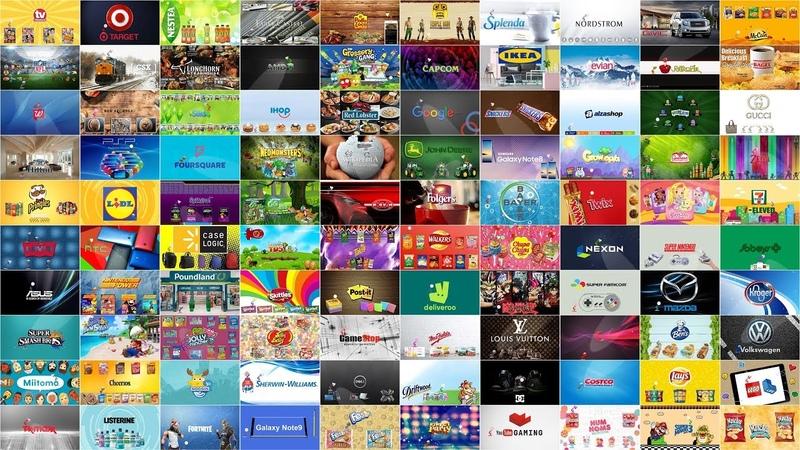 Top 100 (Part-5) Famous Brands Spoof Pixar Lamp Luxo Jr Logo