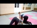 Тренировка по Ушу 18 09 18 Акробатика Юля