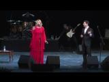 Выступление Антона и Виктории Макарских на юбилейном вечере