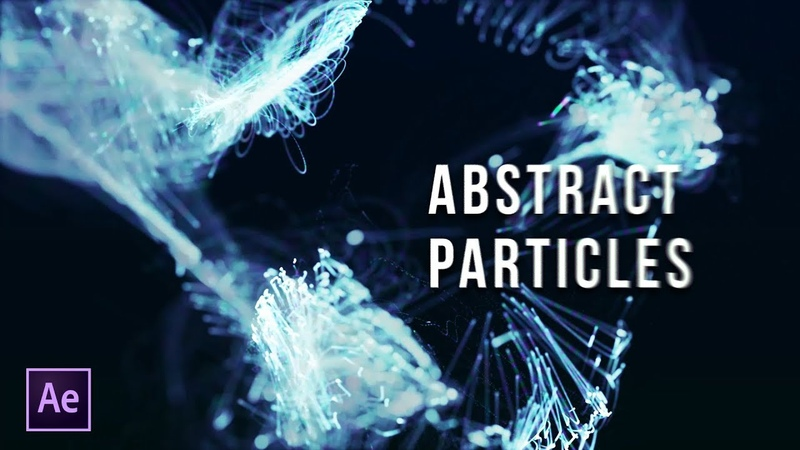 Particles Titles | Abstract Particles | After Effects Tutorial