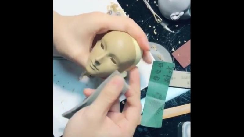 """Huangshan on Instagram_ """"work for ringdoll bjd"""""""