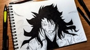 Gajeel Redfox (Fairy Tail) | Speed Drawing