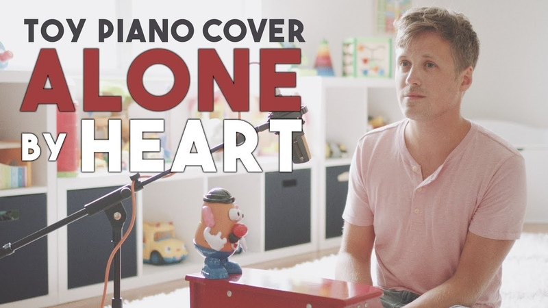 ALONE by HEART ❤️ [Covered on My Sons Toy Piano]