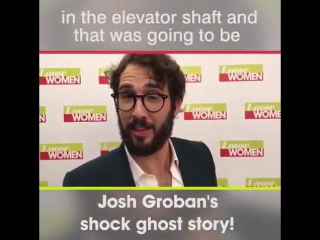 Have you ever had a spooky experience like @joshgroban!