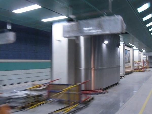 Станция Беломорская скоро откроется.