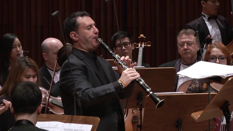 Calogero Palermo Thailand Philharmonic Orchestra Harlap Clarinet Concerto