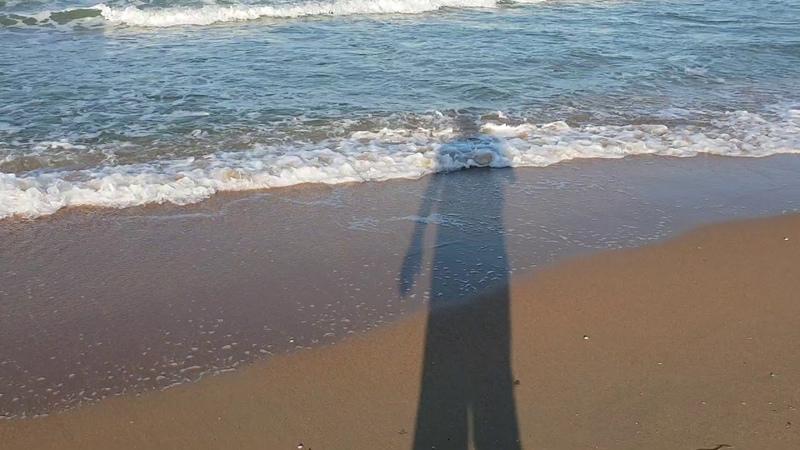Море ВОЛНУЕТСЯ 6.30 утра. 16.07.2018 АНАПА ВИТЯЗЕВО ДЖЕМАТЕ