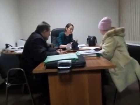 Поход на выездной приём прокурора по вопросам ЖКХ в Управляющую компанию №1