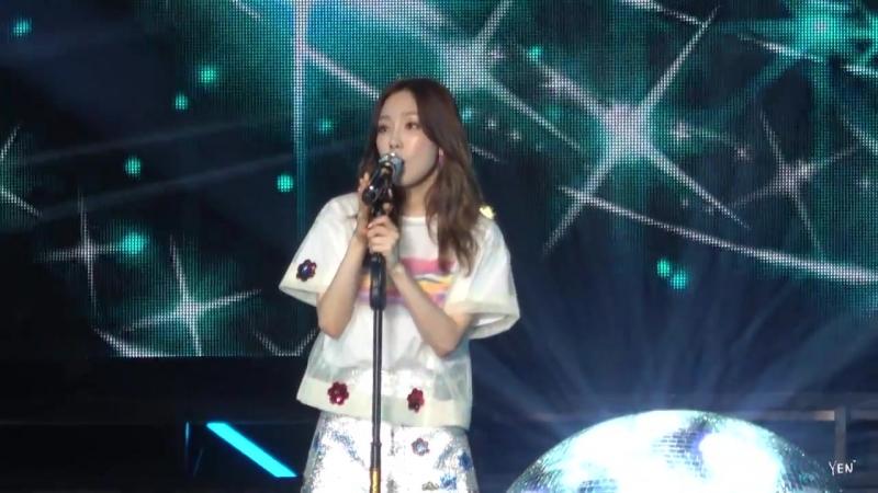 Hyoyeon - Starlight (180422 / BOB Concert in Taipei)