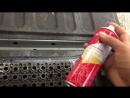 Что делать со следами грязи в багажнике?