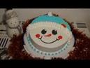 Торт Снеговик Schneemann Torte