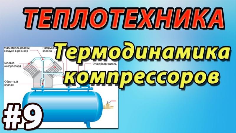 ОСНОВЫ ТЕПЛОТЕХНИКИ. ТЕРМОДИНАМИКА КОМПРЕССОРОВ. Лекция9