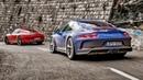 Porsche 911 Carrera T vs Porsche GT3 Touring Top Gear