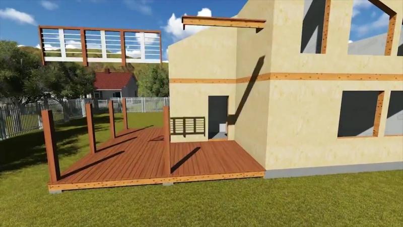 Пошаговая технология строительства каркасного дома в 3D » Freewka.com - Смотреть онлайн в хорощем качестве