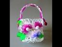 Ornamentando a cestinha de cola quente Passo a Passo hot glue basket