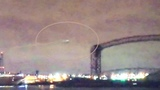 UFO caught on Channel 3 NBC Live Feed over Cleveland