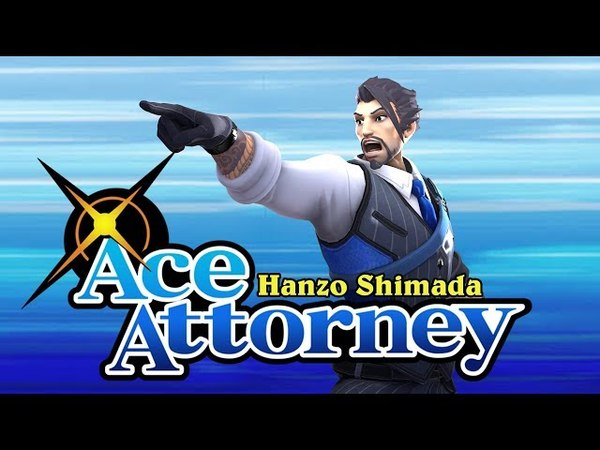 SFM Hanzo Shimada Ace Attorney