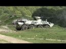 В Абхазии военнослужащие ЮВО провели двустороннее ротное тактическое учение