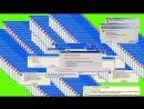 GREEN SCREEN Windows XP Error VIRUS ERROR ☢ FOOTAGE