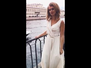 Фотопроект в Санкт-Петербурге, платье от STOPYCHEVA