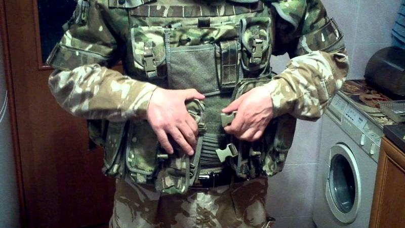 Бронежилет Osprey 4 Body Armour в новой расцветке MTP CAMO армии Великобритании