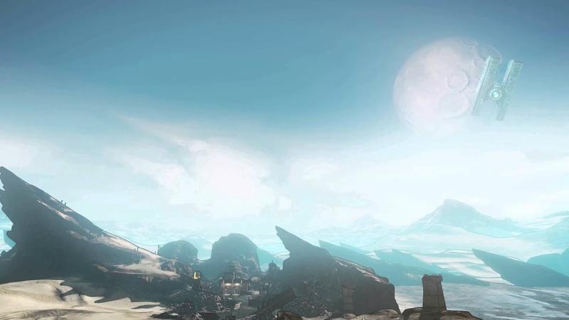 Borderlands 2 - Live Wallpaper - The Dust Timescape (1080p)