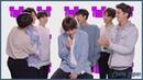 [Озвучка by Cara Linne] BTS So Happy Challenge with Brent Rivera | Radio Disney Music Awards