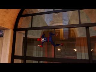Трейлер открытого мира в игре Spider Man