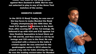 Dhawal Kulkarni Indian Cricketer Biography With Detail