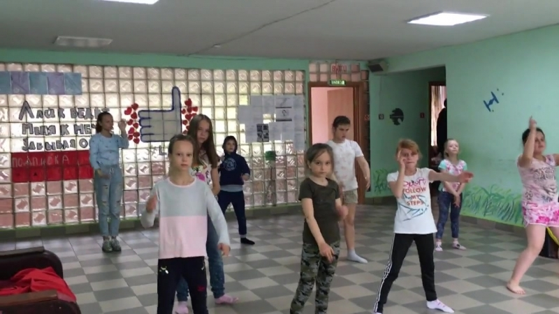 Направление Dancehall, педагог Ирина Шустова.