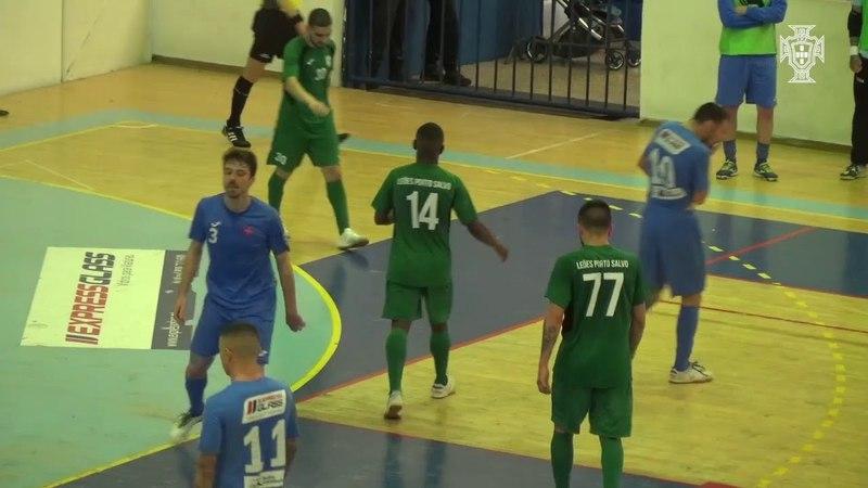 Liga Sport Zone, 26ª jor.: CF Os Belenenses 1 - 5 Leões de Porto Salvo