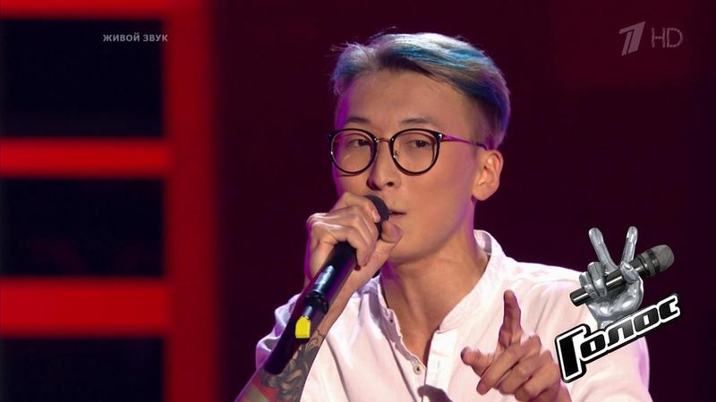 Юрий Пак. «Gangnam Style». Голос 7. Слепое прослушивание. Фрагмент выпуска от16.11.2018