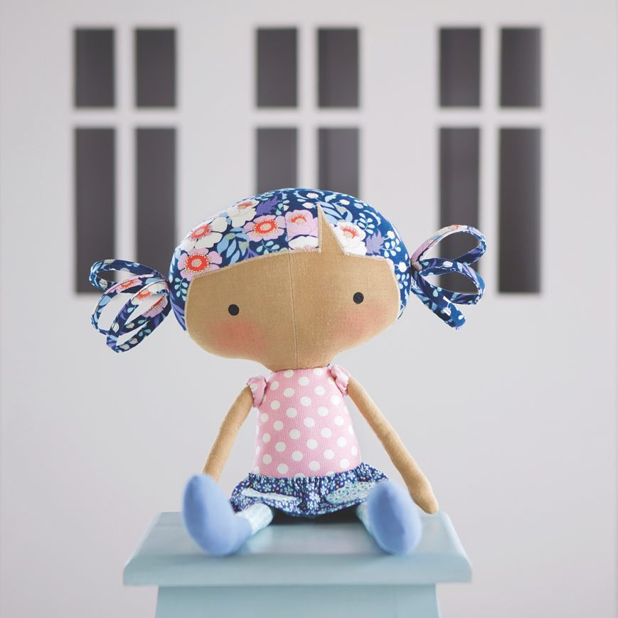 тильда новая кукла