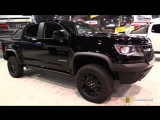 2018 Chevrolet Colorado ZR2 Midnight Edition - Walkaround - 2017 SEMA Las Vegas