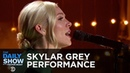 """Skylar Grey Love The Way You Lie """" Coming Home """" Clarity"""" Glorious"""" The Daily Show"""
