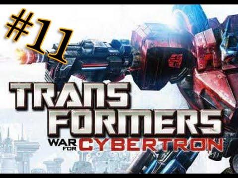 Let's play Трансформеры Битва за Кибертрон 11 серия