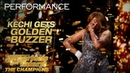 Kechi Singer Gets Emotional Golden Buzzer From Simon Cowell America's Got Talent The Champions