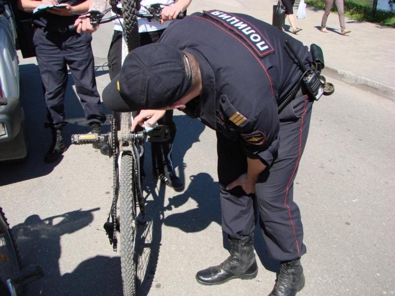 В Таганроге полицейские раскрыли кражу велосипеда
