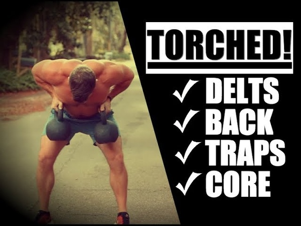 Beginner Push-Pull Kettlebell Routine (TORCH Your Delts, Lats, Traps!) | Chandler Marchman