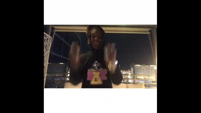 Lil Uzi Vert танцует под отрывок нового трека (часть 2)