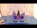 DIY Vamos reciclar Bandeja com caixa de sua festa unicórnio 3 5 Fiesta unicornio