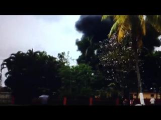 Взрыв кубинского боинга