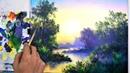 Dạy Vẽ tranh phong cảnh bài 4 p2. (học vẽ online miễn phí).