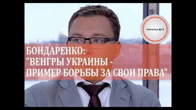 Бондаренко- Венгры Украины - пример борьбы за свои права