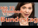 Göring Eckardt Mit 75 Stimmen in den Bundestag Grüne
